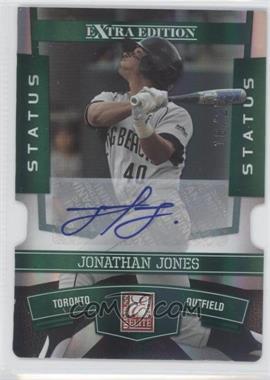 2010 Donruss Elite Extra Edition - [Base] - Status Emerald Die-Cut Signatures [Autographed] #78 - Jonathan Jones /25