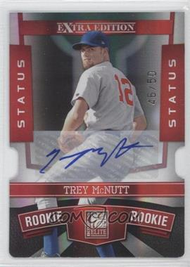 2010 Donruss Elite Extra Edition - [Base] - Status Red Die-Cut Signatures [Autographed] #193 - Trey McNutt /50