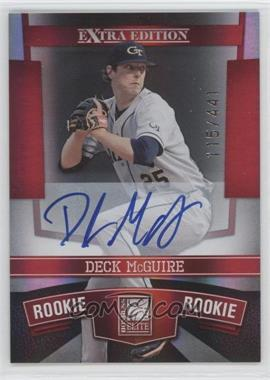 2010 Donruss Elite Extra Edition - [Base] #128 - Deck McGuire /441