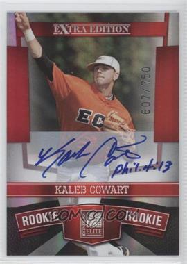 2010 Donruss Elite Extra Edition - [Base] #131 - Kaleb Cowart /750