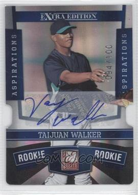 2010 Donruss Elite Extra Edition Aspirations Die-Cut Signatures #163 - Taijuan Walker /100