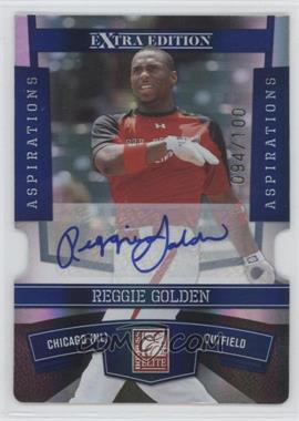 2010 Donruss Elite Extra Edition Aspirations Die-Cut Signatures #22 - Reggie Golden /100