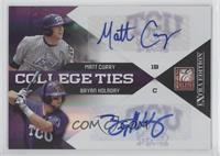 Bryan Holaday, Matt Curry /50