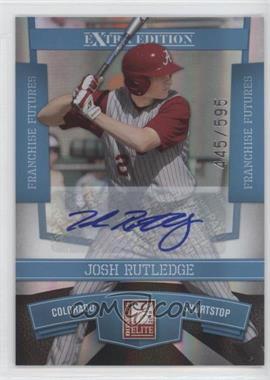 2010 Donruss Elite Extra Edition Franchise Futures Signatures [Autographed] #18 - Josh Rutledge /595