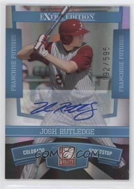 2010 Donruss Elite Extra Edition Franchise Futures Signatures [Autographed] #18 - Josh Rutledge /595