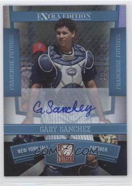 2010 Donruss Elite Extra Edition Franchise Futures Signatures [Autographed] #34 - Gary Sanchez /669