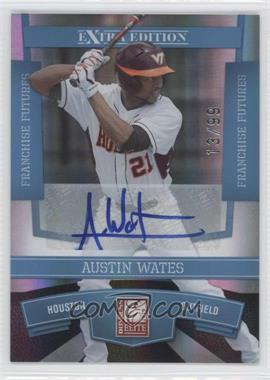 2010 Donruss Elite Extra Edition Franchise Futures Signatures [Autographed] #45 - Austin Wates /99