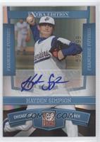 Hayden Simpson /599