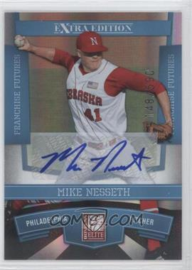 2010 Donruss Elite Extra Edition Franchise Futures Signatures [Autographed] #67 - Mike Nesseth /590