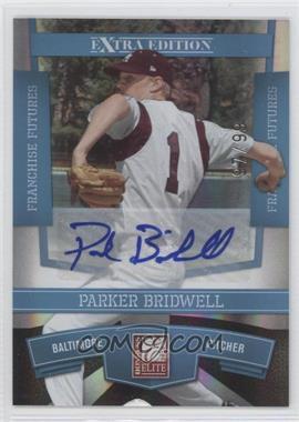 2010 Donruss Elite Extra Edition Franchise Futures Signatures [Autographed] #94 - Parker Bridwell /99
