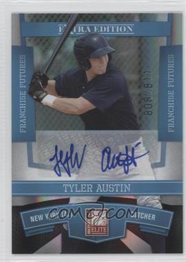 2010 Donruss Elite Extra Edition Franchise Futures Signatures [Autographed] #95 - Tyler Austin /811