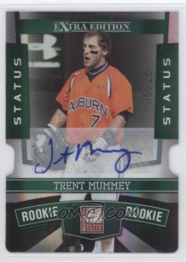 2010 Donruss Elite Extra Edition Status Emerald Die-Cut Signatures [Autographed] #149 - Trent Mummey /25