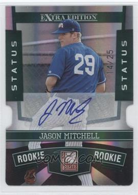 2010 Donruss Elite Extra Edition Status Emerald Die-Cut Signatures [Autographed] #151 - Jason Mitchell /25