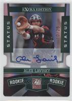 Alex Lavisky /25