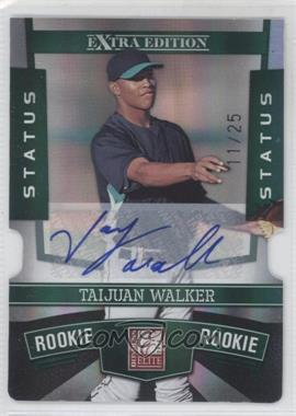 2010 Donruss Elite Extra Edition Status Emerald Die-Cut Signatures [Autographed] #163 - Taijuan Walker /25