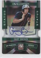 Gary Brown /25