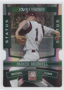 2010 Donruss Elite Extra Edition Status Emerald Die-Cut #94 - Parker Bridwell /25