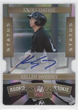 2010 Donruss Elite Extra Edition Status Gold Die-Cut Signatures [Autographed] #143 - Kellen Sweeney /5