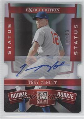 2010 Donruss Elite Extra Edition Status Red Die-Cut Signatures [Autographed] #193 - Trey McNutt /50