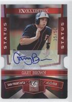 Gary Brown /50