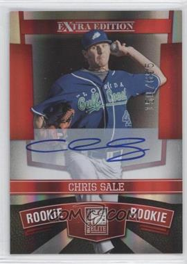 2010 Donruss Elite Extra Edition #103 - Chris Sale /655