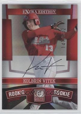 2010 Donruss Elite Extra Edition #106 - Kolbrin Vitek /542