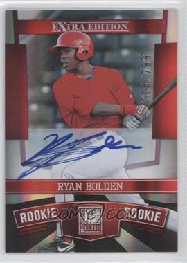 2010 Donruss Elite Extra Edition #122 - Ryan Bolden /799