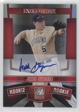 2010 Donruss Elite Extra Edition #124 - Jedd Gyorko /675