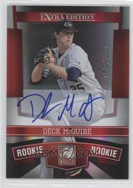 2010 Donruss Elite Extra Edition #128 - Deck McGuire /441