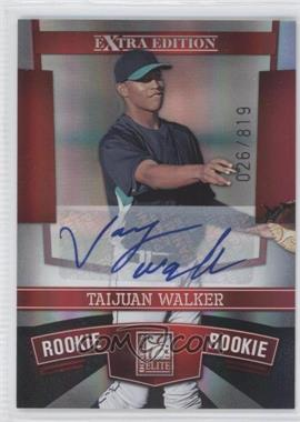 2010 Donruss Elite Extra Edition #163 - Taijuan Walker /819