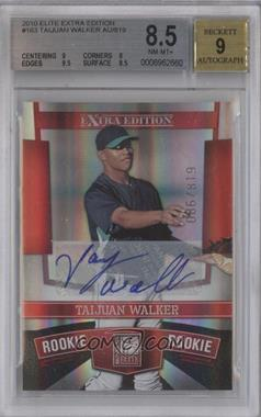2010 Donruss Elite Extra Edition #163 - Taijuan Walker /819 [BGS 8.5]