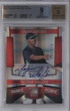 2010 Donruss Elite Extra Edition #163 - Taijuan Walker /819 [BGS 9]