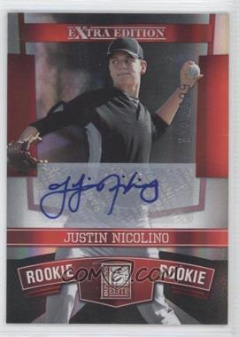 2010 Donruss Elite Extra Edition #169 - Justin Nicolino /399