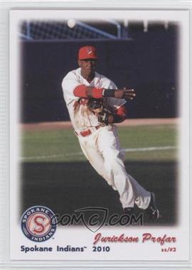 2010 Grandstatnd Spokane Indians #JUPR - Jurickson Profar
