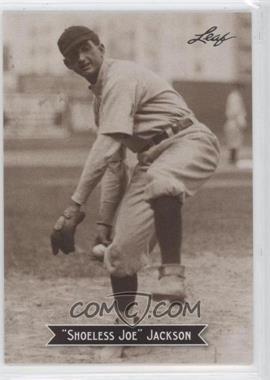 2010 Leaf Sports Icons Update - The Search for Shoeless Joe #13 - Joe Jackson