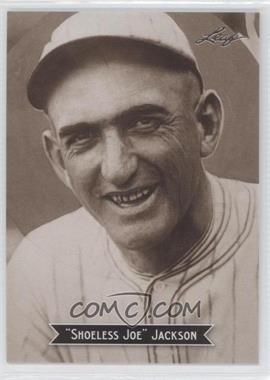 2010 Leaf Sports Icons Update - The Search for Shoeless Joe #14 - Joe Jackson