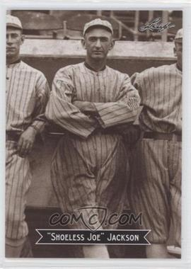 2010 Leaf Sports Icons Update - The Search for Shoeless Joe #9 - Joe Jackson