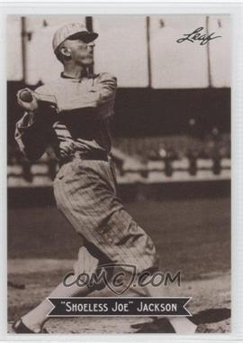 2010 Leaf Sports Icons Update The Search for Shoeless Joe #6 - Joe Jackson
