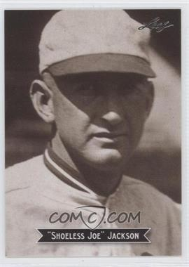 2010 Leaf Sports Icons Update The Search for Shoeless Joe #7 - Shoeless Joe Jackson