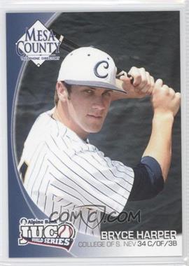 2010 Mesa County Telephone Directory JUCO World Series - [Base] #34 - Bryce Harper