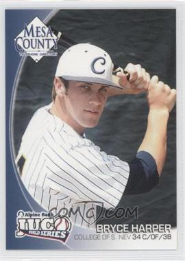 2010 Mesa County Telephone Directory JUCO World Series #34 - Bryce Harper