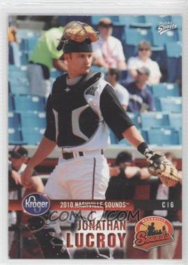 2010 MultiAd Sports Nashville Sounds #25 - Jonathan Lucroy