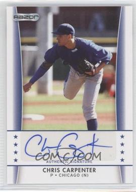 2010 Razor [???] #CC-3 - Chris Carpenter