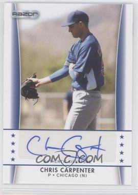 2010 Razor Autographs - [Base] #CC - 5 - Chris Carpenter
