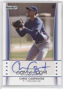 2010 Razor Autographs #CC - 2 - Chris Carpenter