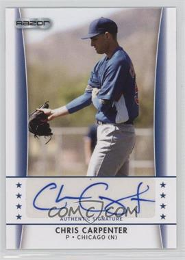 2010 Razor Autographs #CC - 5 - Chris Carpenter