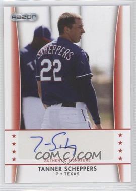 2010 Razor Autographs #TS - 2 - Tanner Scheppers