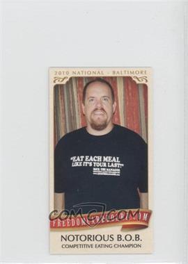 "2010 Razor Freedomcardboard.com National Convention National Convention [Base] #BOSH - ""Humble"" Bob Shoudt /1500"