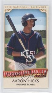 2010 Razor Freedomcardboard.com National Convention National Convention [Base] #N/A - Aaron Hicks /1500