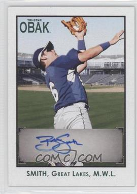 2010 TRISTAR Obak Autographs Green #A35 - Blake Smith /25